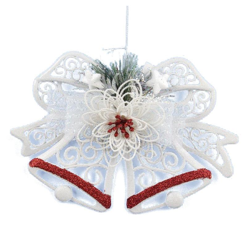 White Christmas Pendant Home Door Window Ornaments Christmas