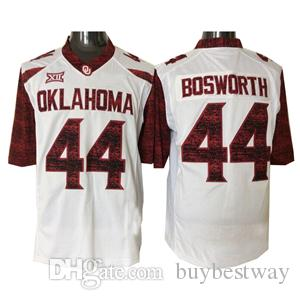 9723ec76d65 2019 Youth Oklahoma Sooners  28 Adrian Peterson 6 Baker Mayfield 44 Brian  Bosworth Red White Stitched NCAA New OU Customized Kids Jersey QF019PY From  ...