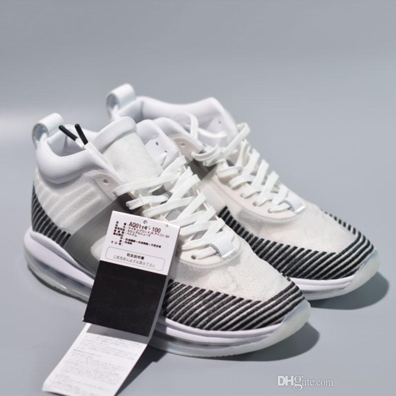 e65e396e1cc 2019 HOT Sale The James X John Elliot Basketball Shoes Black White Icon New  Arrival Fashion Designer Mens Sports Sneakers From Ajsneaker3