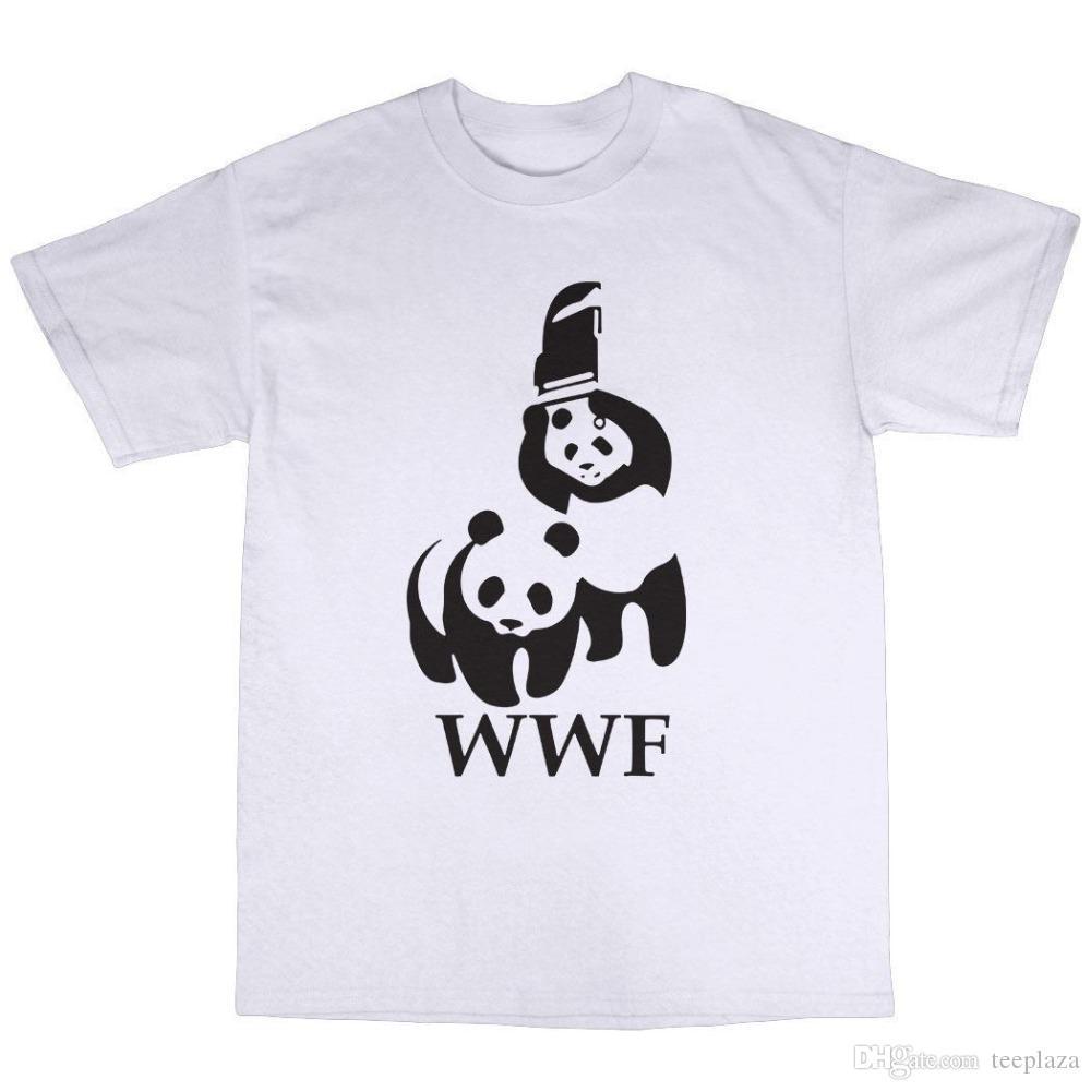 T Acquista Parody Maglietta Quotes Panda Shirt Wwf Cotton Wrestling Ok0nwP