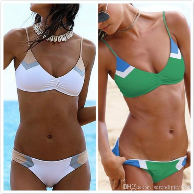 1ab6936865dd1 2019 Sexy Bikinis Women S Fashion Bikini Girls Bra Plus Size Bikini Set  Summer Swimwear Push Up Bathing Suit Padded Swimsuit Holiday Beachwear From  ...