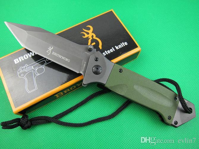 Горячая распродажа! Завод прямые брови DA35 выживания кемпинг нож тактический карманный складной нож нож Нож с розничной упаковке коробки