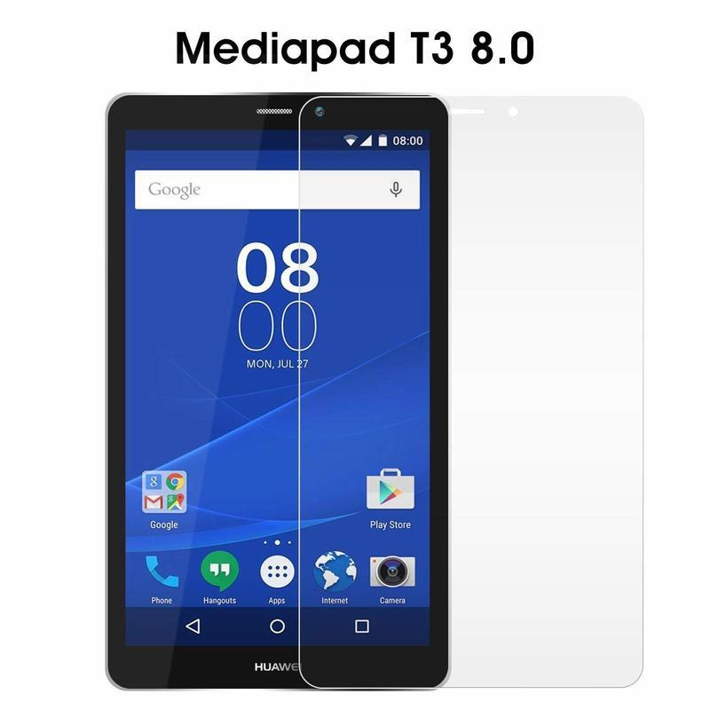 Screen Protector For Huawei Mediapad T3 8inch KOB-L09 KOB-W09 Tempered  Glass Super Clear Screen Protector Honor Play Pad 2 8 0