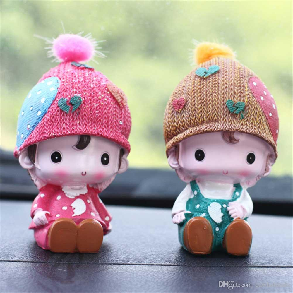 Creative Car Decoration Cute Doll Decoration Mood For Love For Car Home Best Gift For Friends Canada 2019 From Cawholesale, CAD $13.89 | DHgate Canada