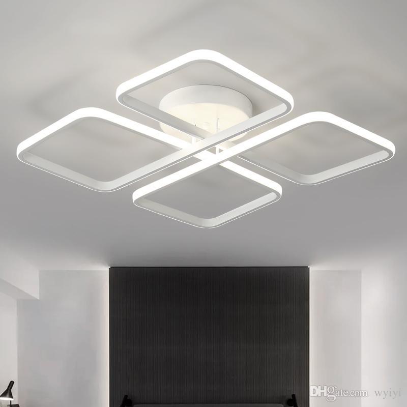 Led lampe moderne deckenleuchten für wohnzimmer schlafzimmer küche lampen  decke mit fernbedienung für zimmer innenbeleuchtung leuchte