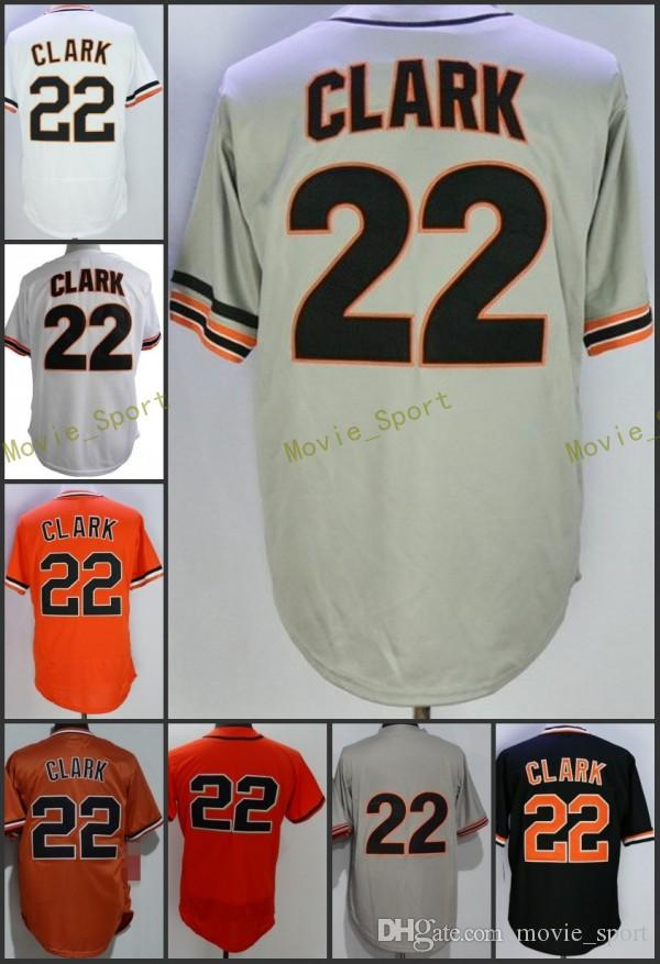 8b009e0af 2018 Flexbase San Francisco  22 Will Clark Home Away SF Jersey ...
