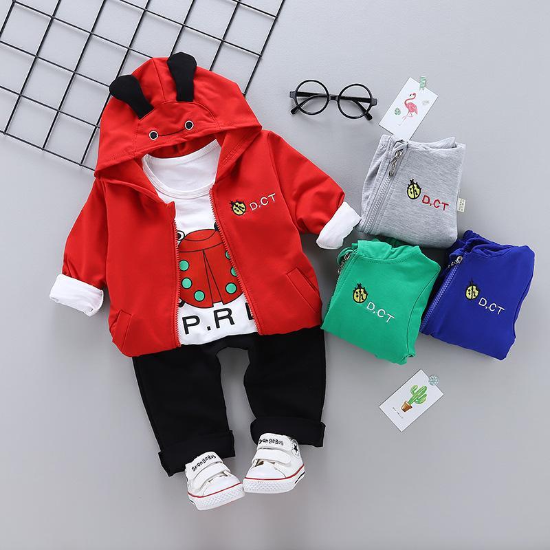 abb91454d 2019 Spring Autumn Children Boy Girl Clothing Sets Baby Cartoon ...