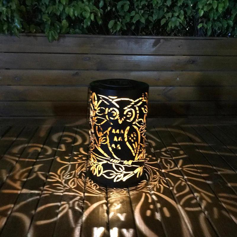 Solaire Suspendue Lampe De Lihgts À Métal L'eau En Imperméable Suspendus Extérieur Décoration Rotin Led Jardin Lumière gbf7yY6
