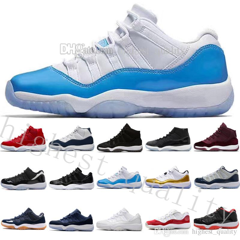 competitive price 582eb 08bd4 With box 2018 Cheap NEW 11 Gym Red Space Jam Chicago Win like 82 11s Men  Basketball Shoes Women Athletic Sports Sneakers US 5.5-13 Eur 36-47