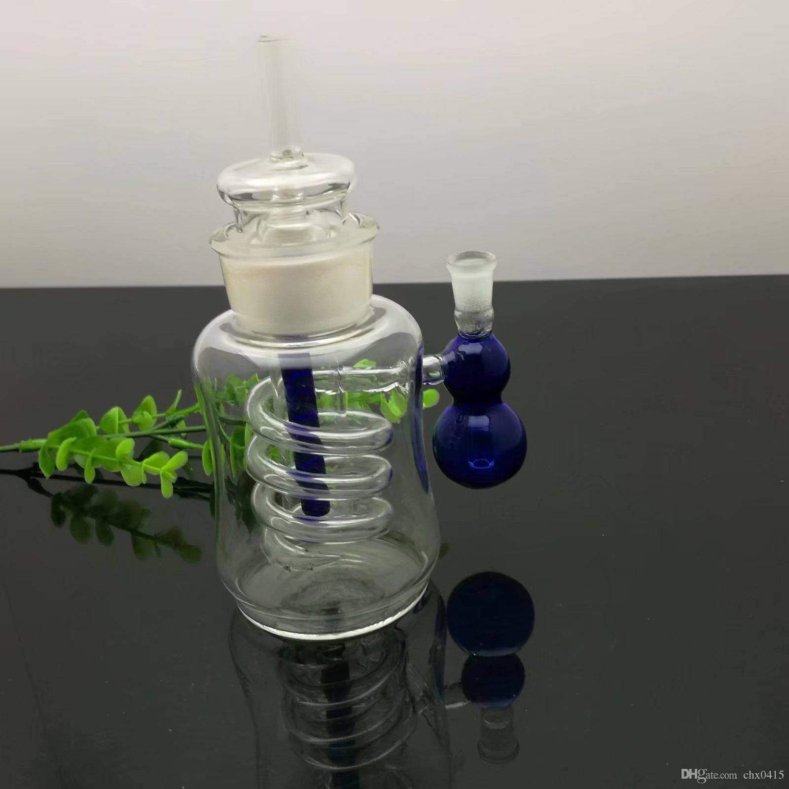 조롱박 유리제 물 파이프 도매 유리 bongs 오일 버너 유리 물 파이프 오일 렌지 흡연 무료 배송