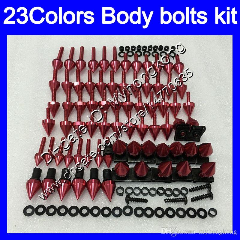 Fairing bolts full screw kit For YAMAHA YZFR1 15 16 17 YZF R1 YZF 1000 YZF1000 YZF-R1 2015 2016 2017 Body Nuts screws nut bolt kit 25Colors