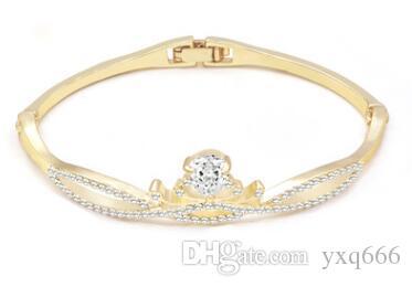 Direkte koreanische Frauen einfache wilde Hand Schmuck Ornamente Feier Geburtstagsgeschenk - Krone Armband