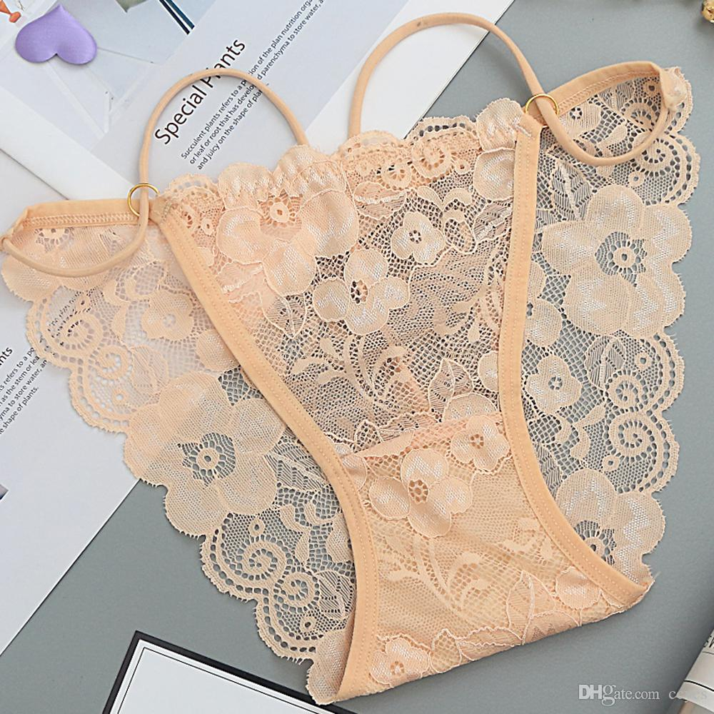 43fb9e83171739 2018 fashion women's lace Underwear Bikini Briefs sexy panties Solid Flower  seamless Female Underpants brand new Bragas 931