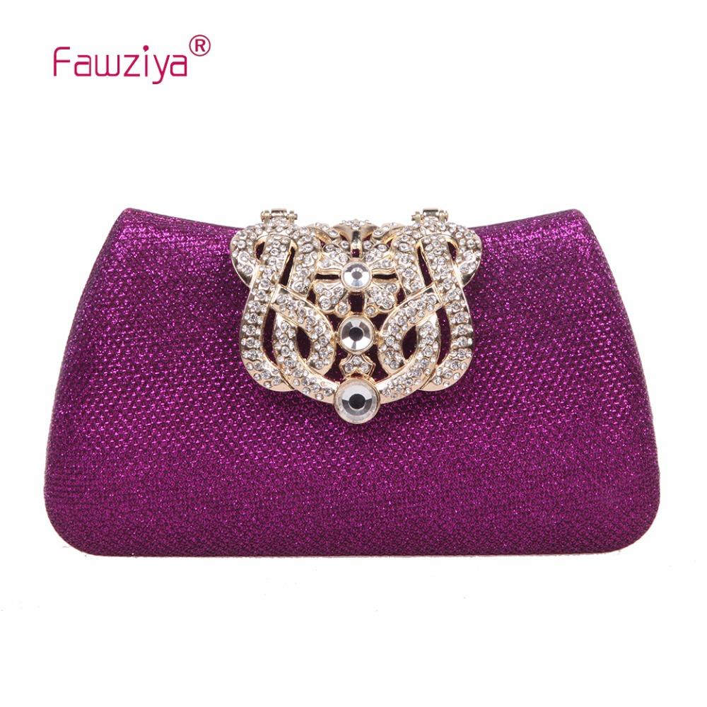 Fawziya Crown Clutches For Women Evening Glitter Box Clutch Purses Rosetti  Handbags Shoulder Bags For Women From Lbdshoes 4e6c5cfd9d7f