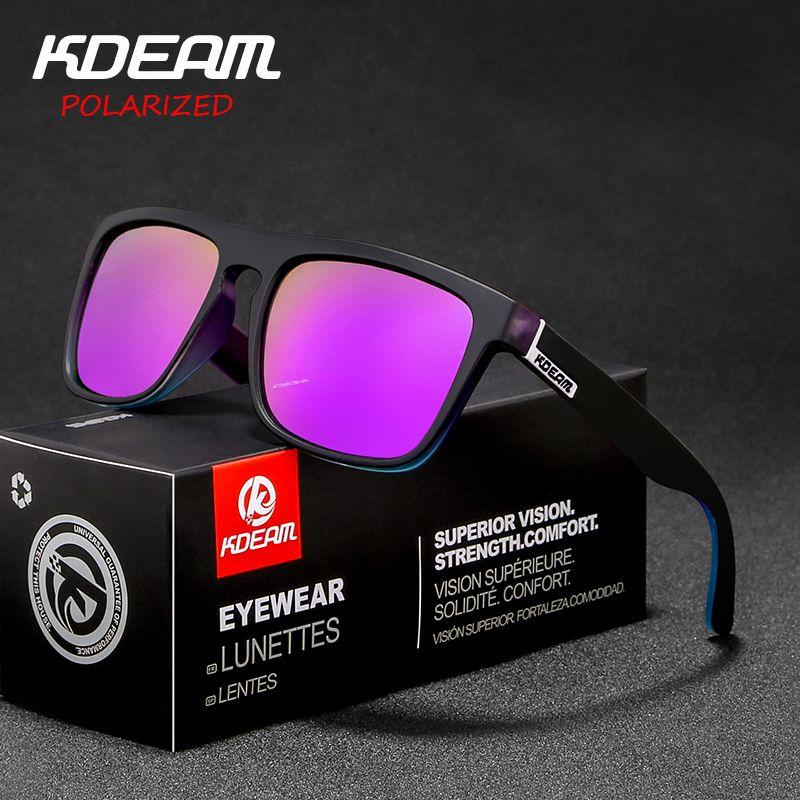 20e142580d New Arrived KDEAM Mirror Polarized Sunglasses Men Square Sport Sun Glasses  Women UV Gafas De Sol Metal Hinge UV400 KD156 Cat Eye Sunglasses Round  Sunglasses ...