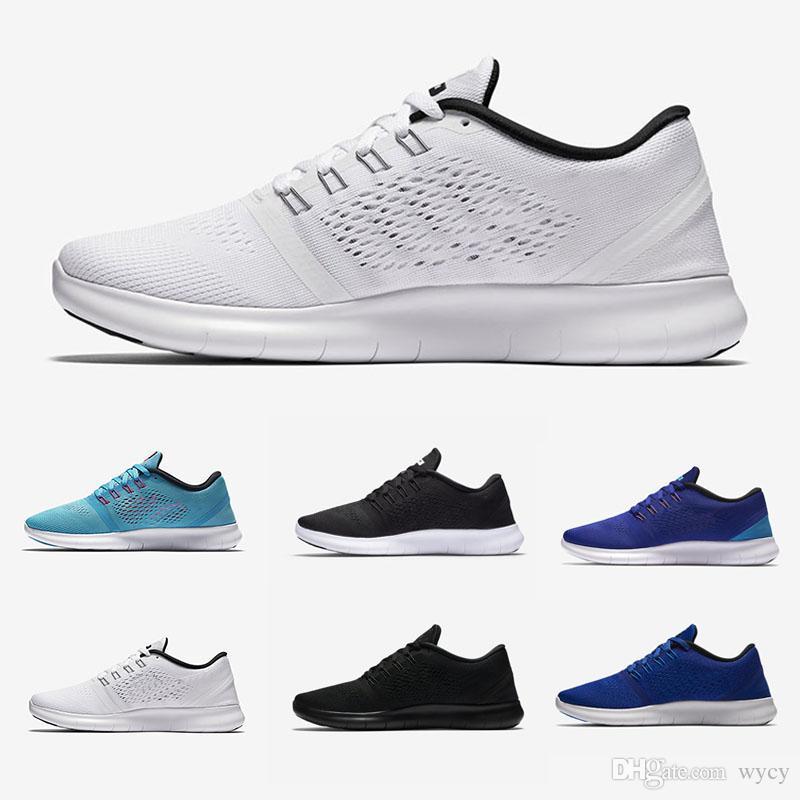 reputable site 28a96 a3e2e Acquista Nike Flyknit Free Run 2.0 3.0 4.0 5.0 Uomo Donna Free Run 5.0 V  Scarpe Da Corsa Scarpe Buona Qualità Lace Up Air Mesh Traspirante Sport  Jogging ...
