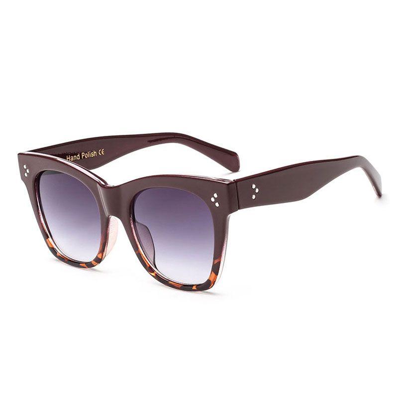 8829ca6ce3 Brand Designer New Fashion Square Sunglasses Women Retro Sun Glasses For  Women Flat Top Oversized Sunglasses Vintage UV400 Heart Shaped Sunglasses  Mirrored ...