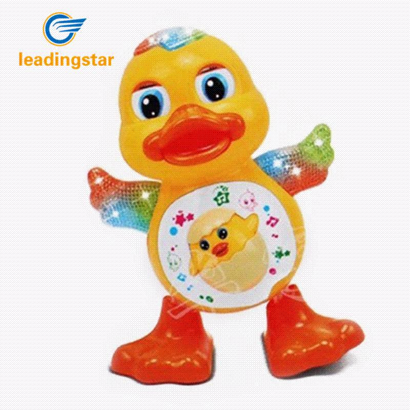Marvelous Leadingstar Battery Powered Musical Dancing Duck Toy With Flashing Light  Interesting Waddle Toy Gift For Toddlers Zk35 Cursing Toy Phone Toy Phone  Ringtone ...