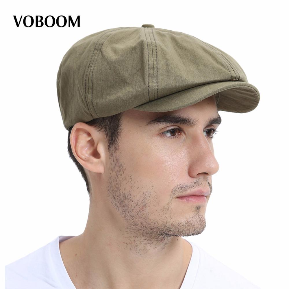 2019 VOBOOM Summer Newsboy Cap Men Women Eight Panel Hat Cotton Baker Boy  Caps Retro Apple Hats 134 S1020 From Ruiqi08 80a8bb080ee