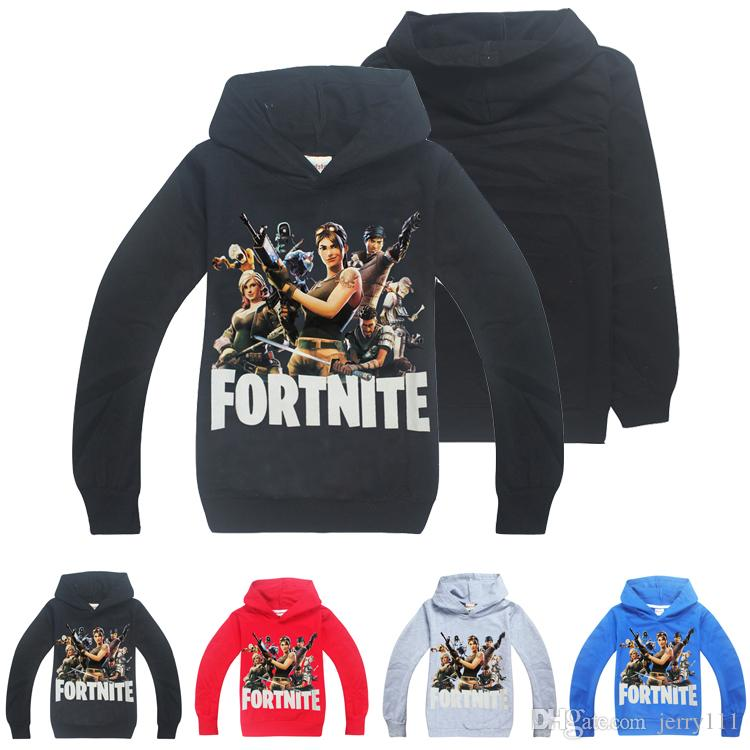 453ab58a3 Fortnite Kids Hoodies Sweatshirts 6-14 Years Old Kids Cotton ...