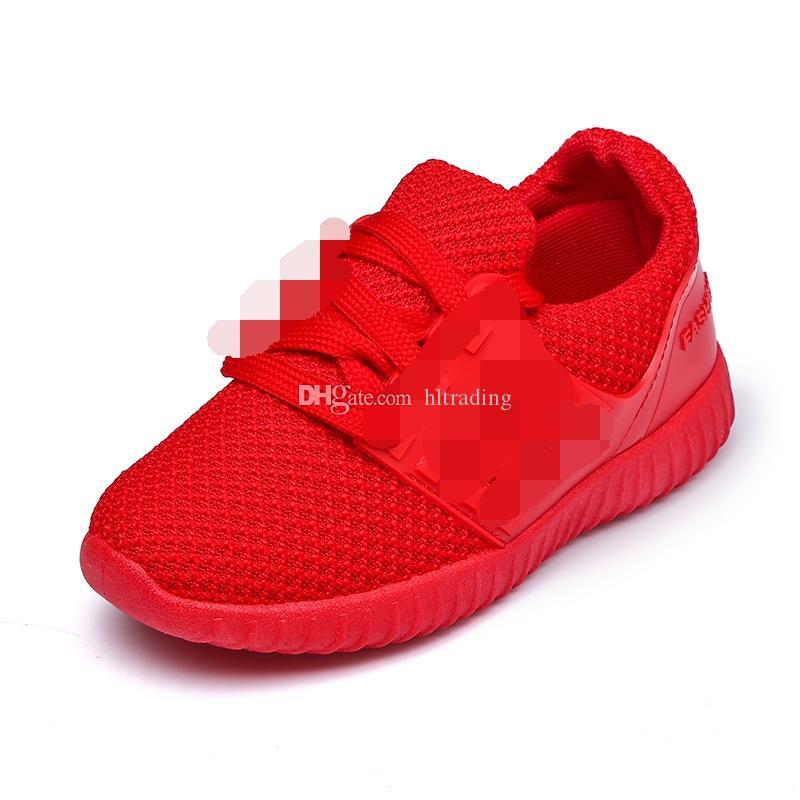 b23d90f190438 Acheter Nouveau Bébé Sport Chaussures De Basket Ball Doux Antidérapant  Respirant Enfants Garçons Filles Chaussures De Sport 2 Couleurs C3116 De   7.64 Du ...