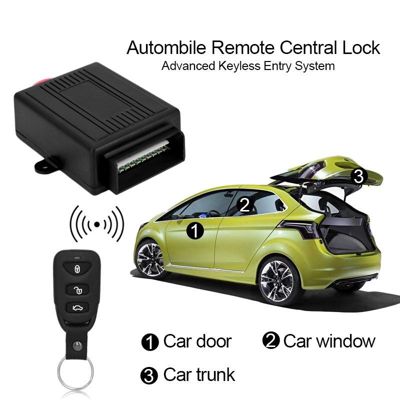 Compre 433.92mhz Auto Universal Remoto Sistema De Alarma Central Kit ...