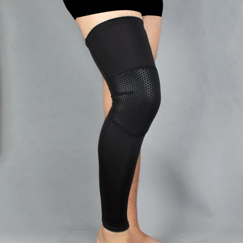 333300707dc98 2019 Basketball Sports Knee Pads Breathable Long Leggings Tights Outdoor  Football Hiking Riding Running Gear From Pearguo, $34.17 | DHgate.Com