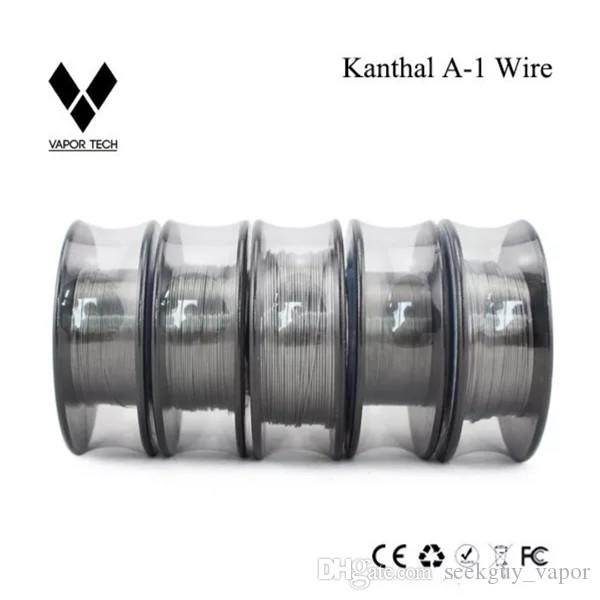 Vapor Tech Nichrome 80 Wire Heating Resistance Coil 30Feet Spool AWG 22 24  26 28 30 32 Gauge for RDA Atomize