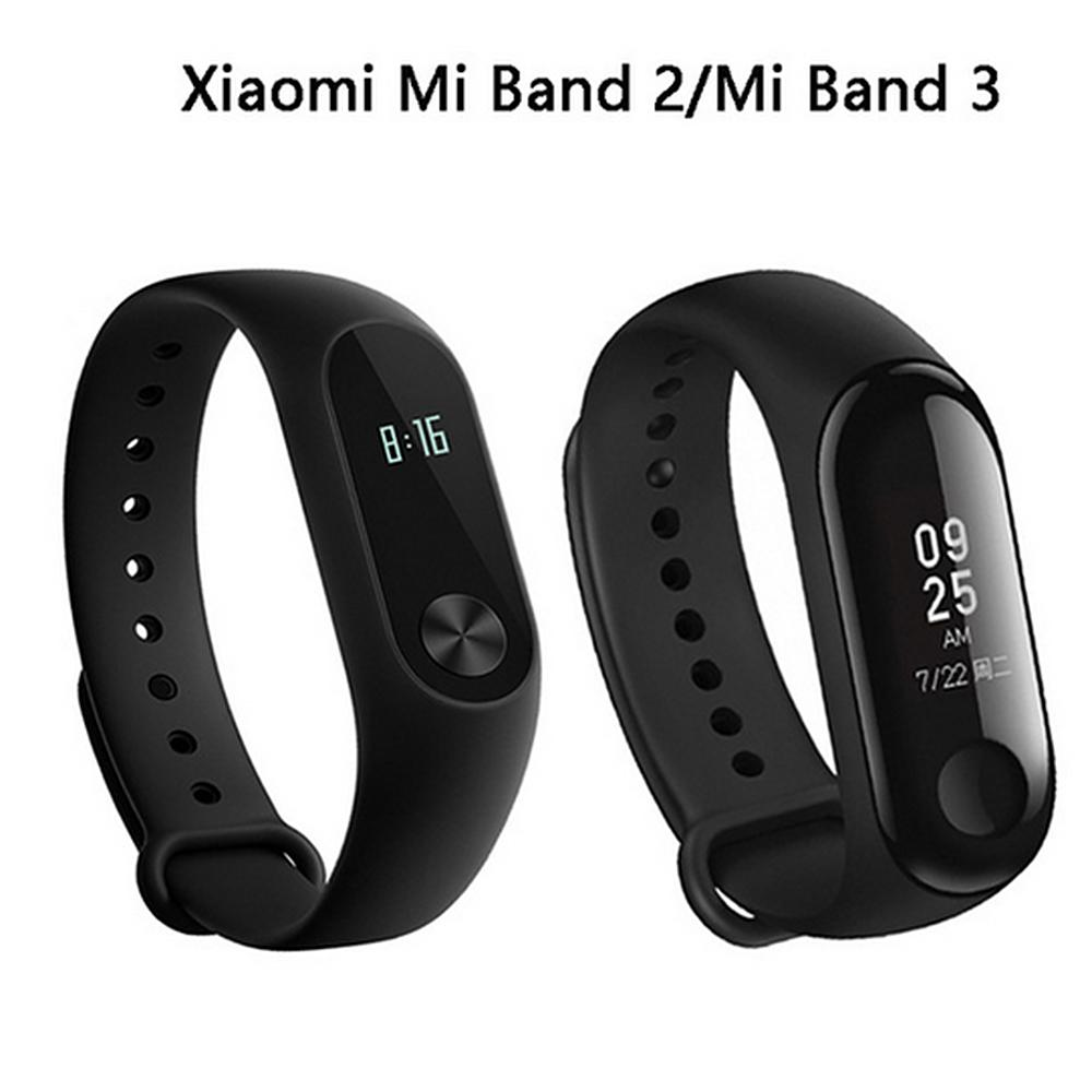 fdc0bfa3c Xiaomi Mi Band 3 Miband 2 3 Fitness Tracker Band Instant Message 5ATM  Waterproof OLED Touch Screen Smart Watch For Mi 2 Rubber Wrist Bands  Wristband ...