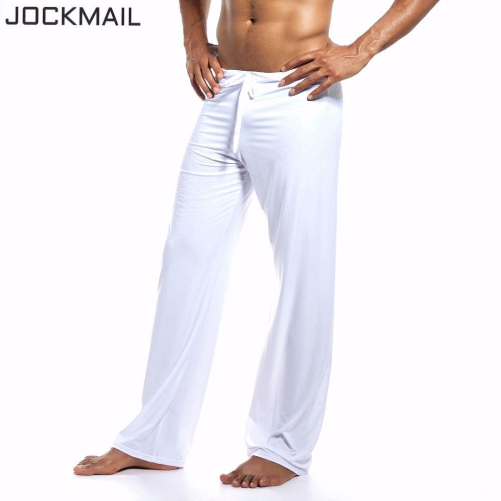 Compre JOCKMAIL Marca Sports Fitness Hombre Pantalones De Yoga Vertical  Suave Gimnasio Ropa Deportiva Para Fitness Correr Culturismo Ropa Gay A   28.59 Del ... 32c1dc814133
