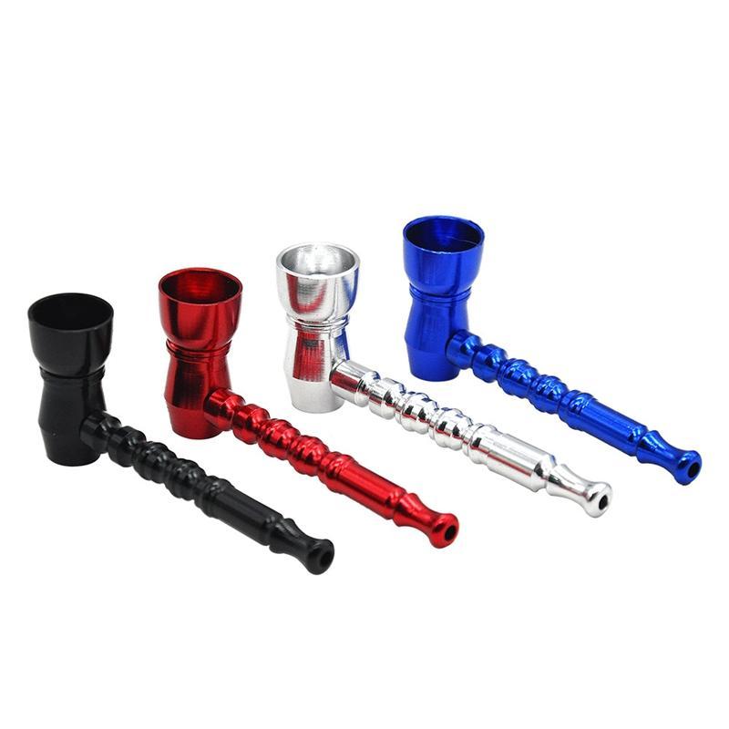 Metallrohr Mounthpiece Aluminiumlegierungs-Hand entfernbare Qualitäts-Minipfeifen-Rohr-tragbarer einzigartiger Entwurf, der einfach ist, sauberen heißen Verkauf zu tragen