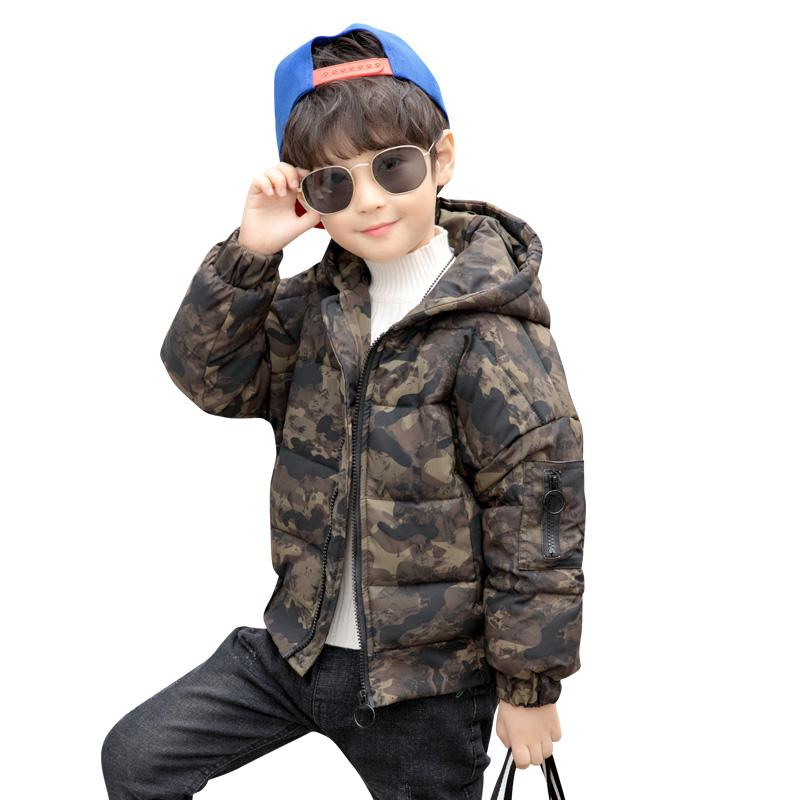5fa3f94ee039 2018 New Boys Winter Thick Warm Coat Kids Hooded Casual Jacket Kids ...