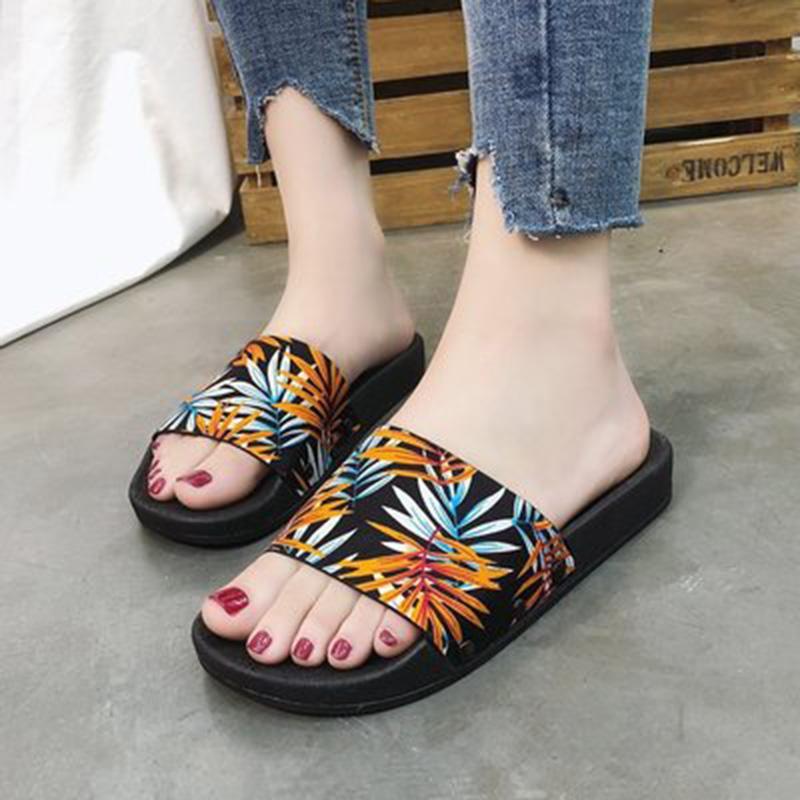a437be93b68 New Arrive Fashion Summer Slide Sandals Slippers For Men Women Hot Designer  Flower Printed Unisex Beach Flip Flops Slipper HIGHT QUALITY Bridal Shoes  Cheap ...