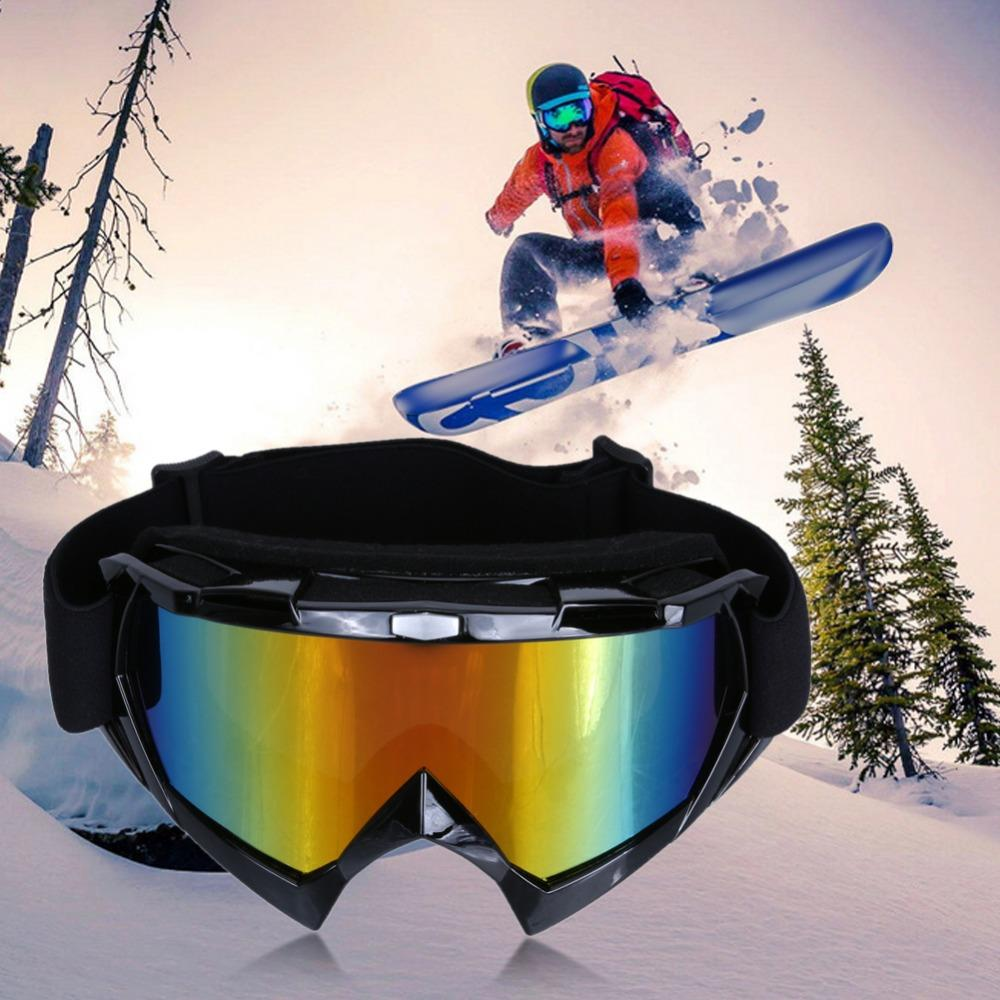 c769a88f4fd7 2019 Unisex Winter Skiing Bike Cycling Ati Fog Glasses Snowboard Skating  Ati Wind Goggles Anti UV Ski Bicycle Ski Eyewears From Simmer
