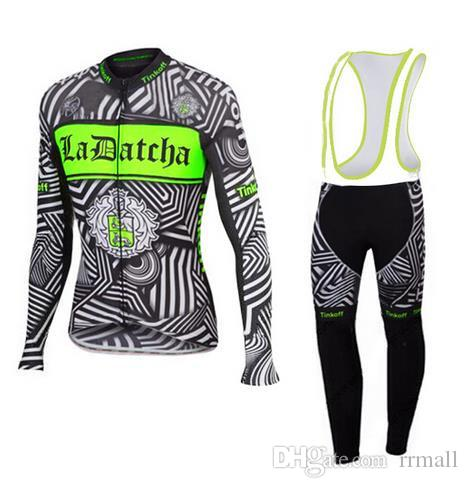 93e6f4700 Three Colors Tinkoff Saxo Bank Sets Cycling Jerseys Winter Thermal Cycling  Clothing Long Set Autumn MTB Ropa Men s Bike Clothes Bicycle Suit Clothing  ...