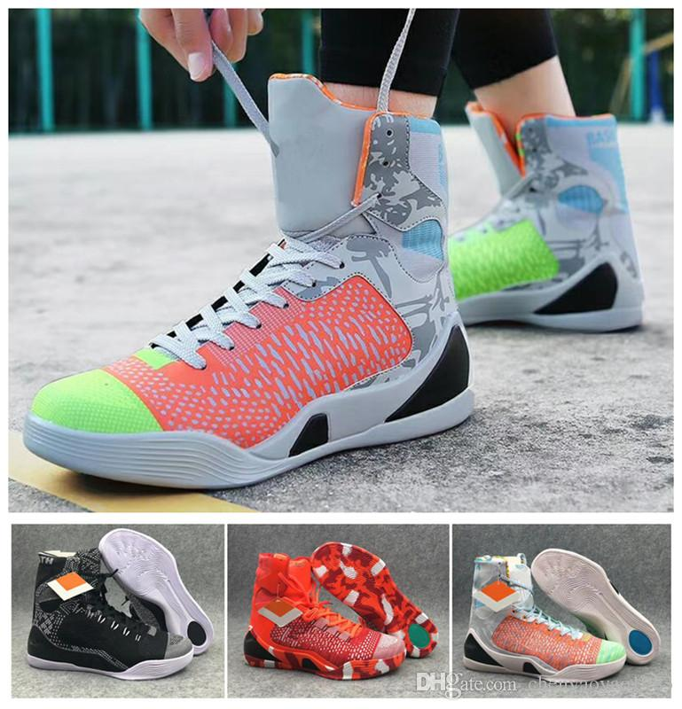 15de9d959b66 france nike kobe 9 performance test 5d89e 09233  discount 2018 kobe 9 elite  basketball shoes mens black month weaving high top basketball shoes kb