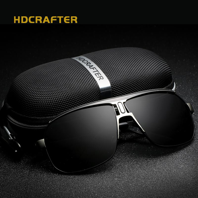 3bf7c727c8 2018 Brand Designer Sunglasses Men Polarized Driving Sun Glasses ...