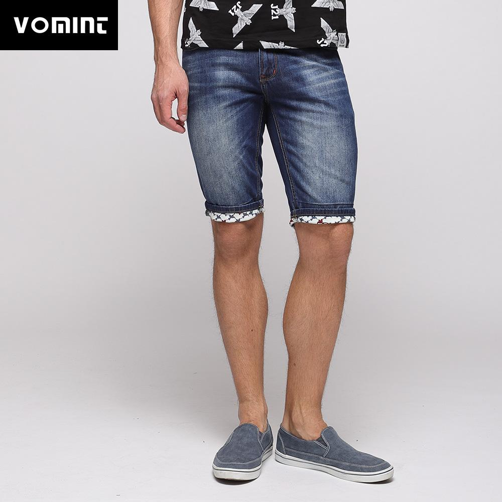 VOMINT 20178 New Mens Denim Shorts Casual Knee Length Short Patches Slim  Jeans Shorts For Men O6JI4449 UK 2019 From Octavi 38f31a48c1da