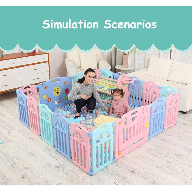 Neue Indoor Baby Laufgitter Spiele Im Freien Fechten Kinder Spielen Zaun Kinder Aktivitat Getriebe Umweltschutz Sicherheit Spiel Yard