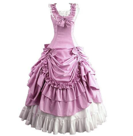 Women Adult Southern Victorian Dress Ball Gown Gothic Lolita Dress ...