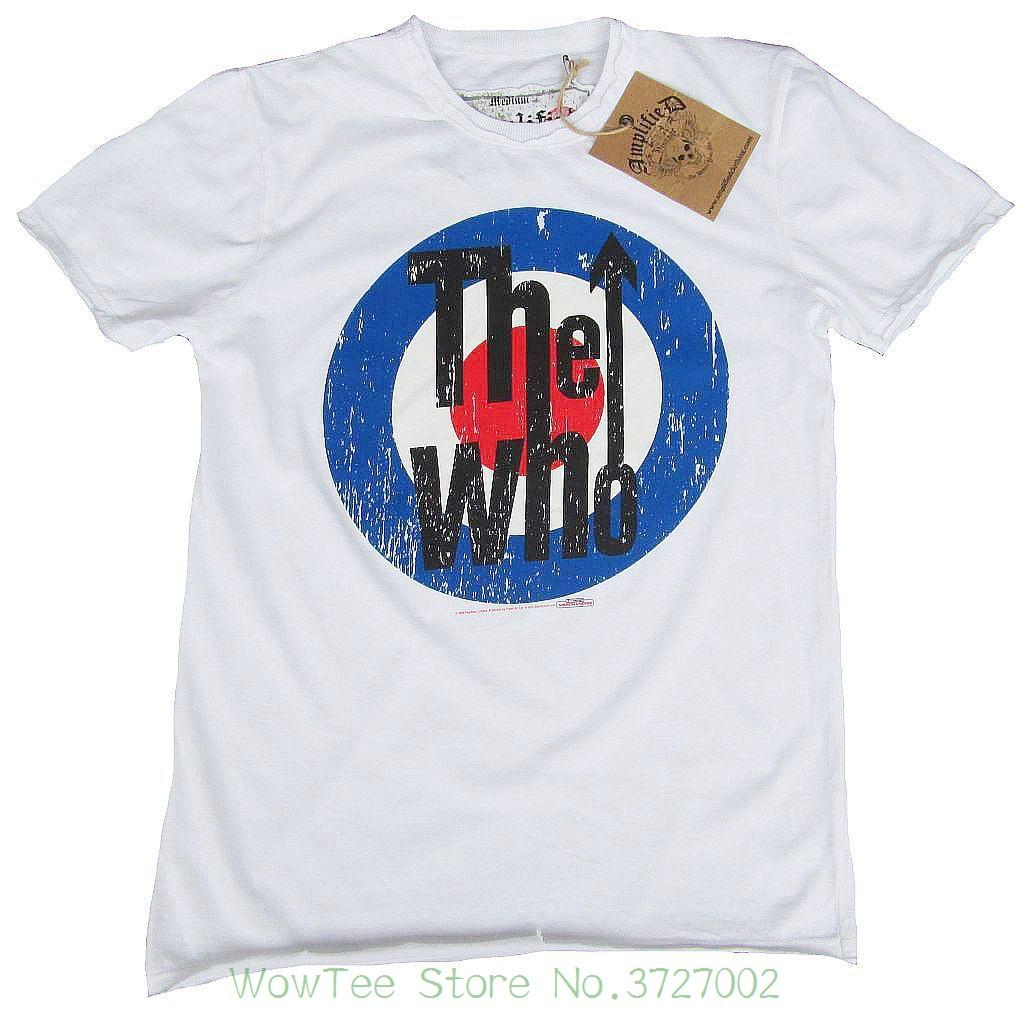 bf5d898448d Wow Amplified Official The Who Target Rock Star Vintage Vip T-shirt G.l 50    52 New 2018 Fashion Hot Online with  32.14 Piece on Wowteestore s Store  ...
