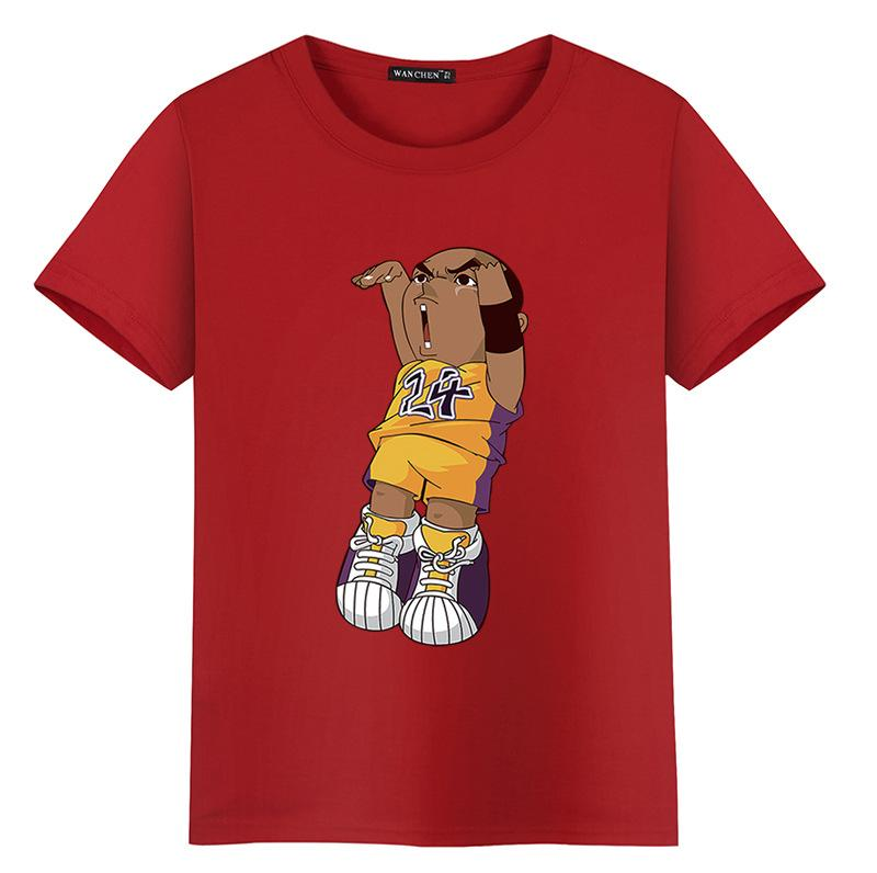 b4a932a51 2018 New Chic Mens Womens T Shirts Cartoon Print Short Sleeve O Neck Tops  Tees Basketball Sportswear Hip Hop Style Blouse Buy T Shirts Online Funny  Tee ...