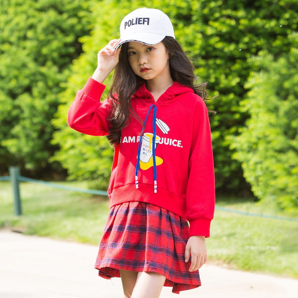 5a95083364 2019 Girl Long Sleeve Dress Kids Dresses For Girls Fall Princess Dress  Autumn 2018 Plaid Vestido Children Teen Clothes Jurk Sukienki From Entent