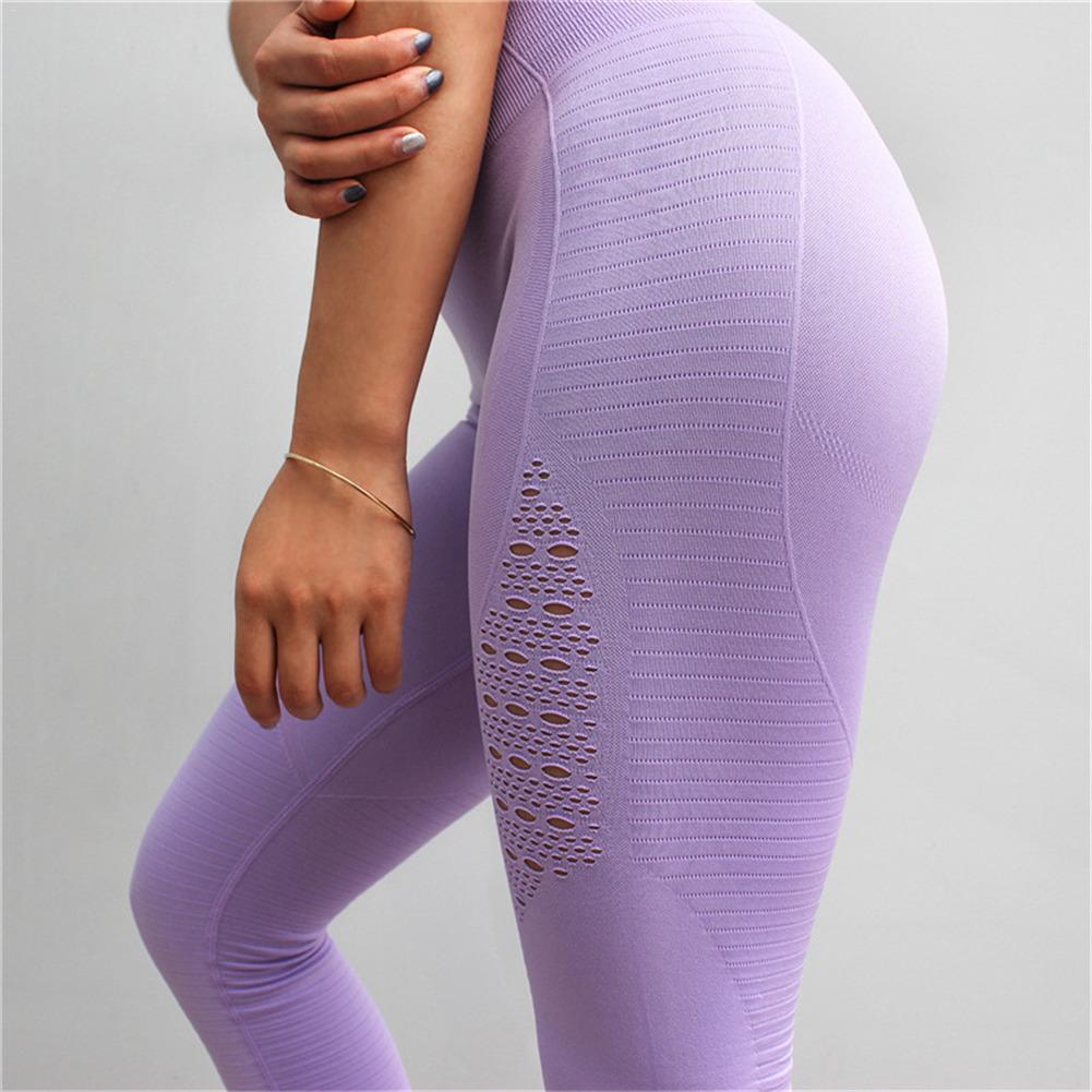 Compre Leggins Sport Women Fitness Pantalones De Yoga Mujeres De Cintura  Alta Elástico Yoga Leggings Ropa Deportiva Mujer Gimnasio Calzas Deportivas  Mujer A ... 0f14a8ef9eb4