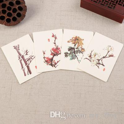 2018 New Cards China Painting Style Card Birthdayholiday Greeting