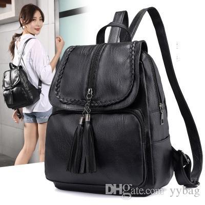 331255d17b China Oem Ladies Bag Manufacturer Wholesale Fashion Leather Backpack Women  Bag