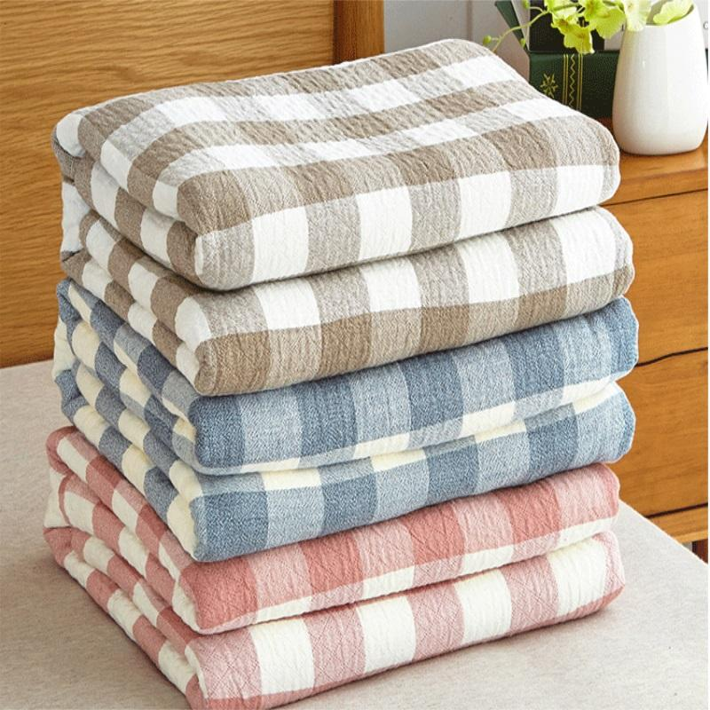 2018 Housewares Washed coon blanket Summer blanket 160x220cm Bedding Sofa Portable Bedding MT016