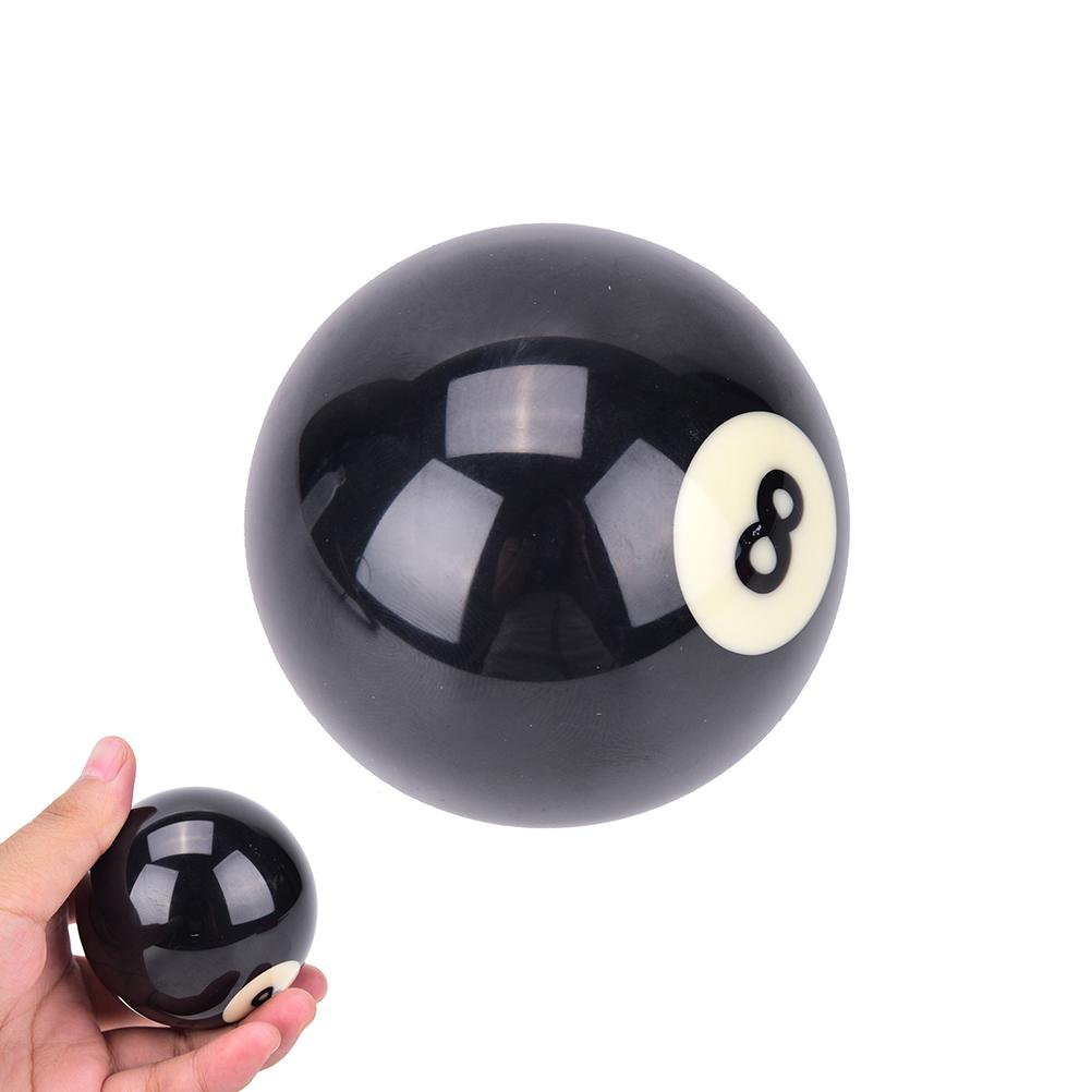 1 PCS Two Size 52 5/57 2 mm EIGHT BALL Standard Regular Black 8 Ball EA14  Billiard Balls #8 Billiard Pool Replacement