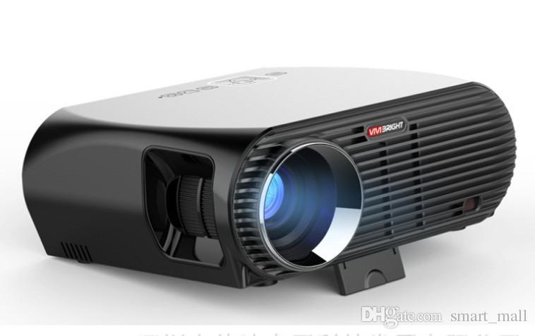 VIVIBRIGHT GP100 4K Full HD LED Projector 1080P Home Theater Cinema Video  Projectors 3200 Lumens Built-in speaker Basic Version LLFA