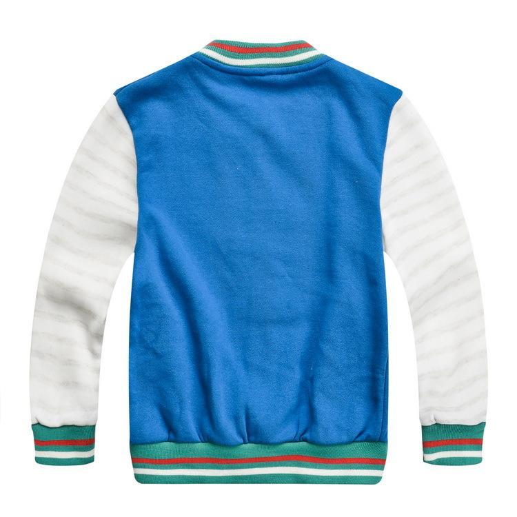 2017 Yeni Varış bebeğin Beyzbol Ceketler Bahar Sonbahar 2-5 T Erkek Kız Mektup Aktif Mont Çocuk Spor giyim, 1C002